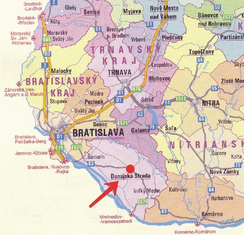 Resultado de imagem para Dunajská Streda